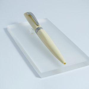 Gulôčkové pero Dunas Shiny White