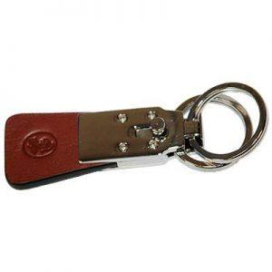 Kľúčenka El Casco, hnedá koža