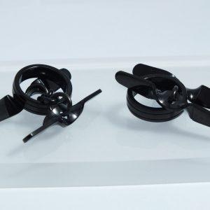 Manžetové gombíky Propeller Black, Dalvey