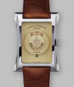 Cuervo Y Sombrinos Esplendidos 1882 pánske hodinky