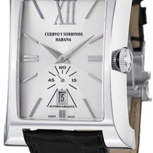 Cuervo Y Sobrinos Esplendidos Small sec.white LE pánske hodinky