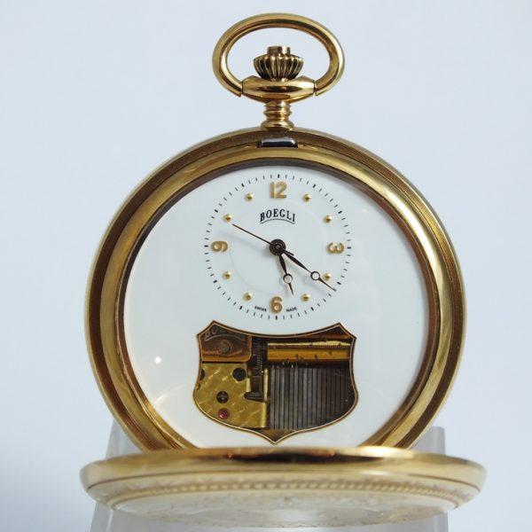 Boegli M123, luxusné pánske vreckové hodinky