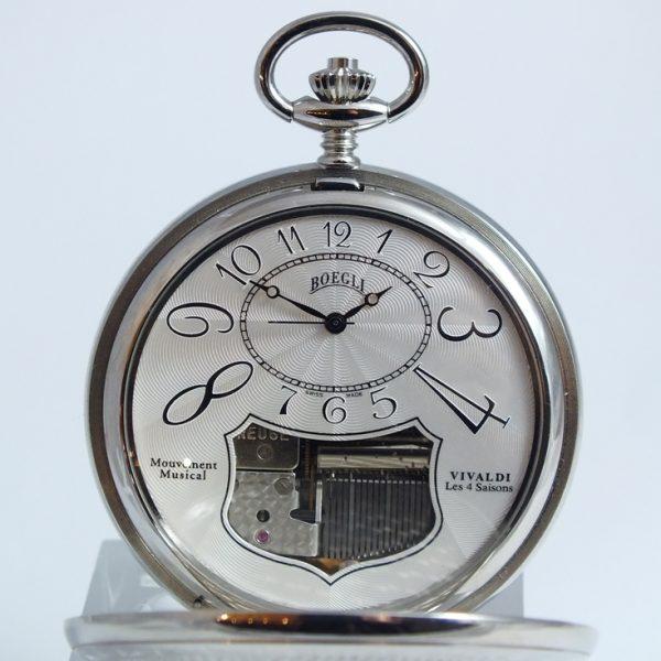 Boegli M138, luxusné pásnke vreckové hodinky