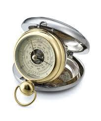 Dalvey Barometer pozlátený