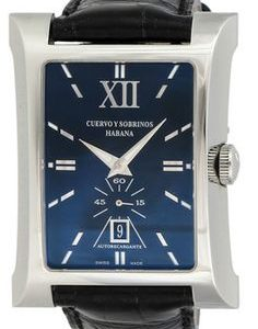Cuervo Y Sobrinos Esplendidos Small sec.black LE pánske hodinky