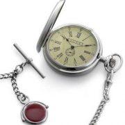 Dalvey Full Hunter vreckové hodinky s retiazkou