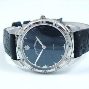 Cuervo Y Sobrinos Historiador Lady black dámske hodinky