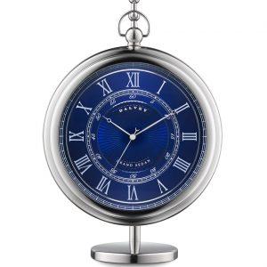 Dalvey Grand Sedan hodiny so stojanom modré
