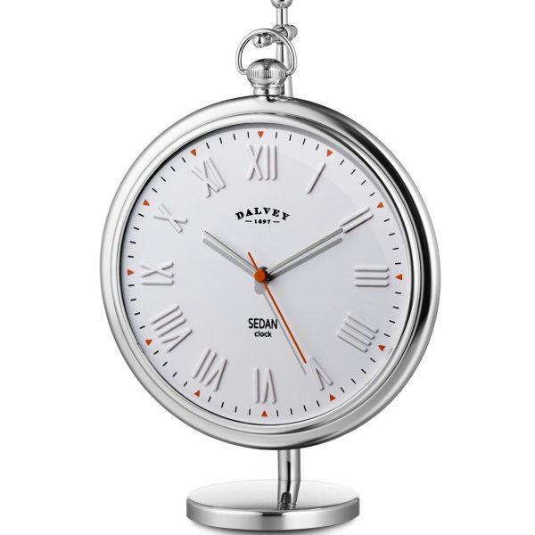 Dalvey Sedan White hodiny a stojan