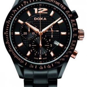 Doxa chronograph black