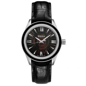 Doxa dámske hodinky black