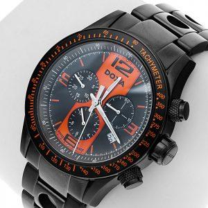 Doxa pánske chronograph orange hodinky