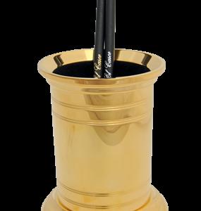 El Casco Stojan na perá veľký (gold plated 23k)