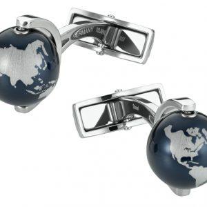 Montblanc manžetové gombíky Globes Heritage