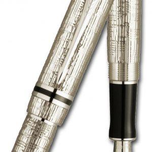 parker-duofold-esparto-silver-fountain-pen