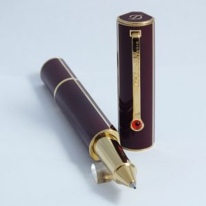 ST Dupont Roller pero Lotus Red and Gold