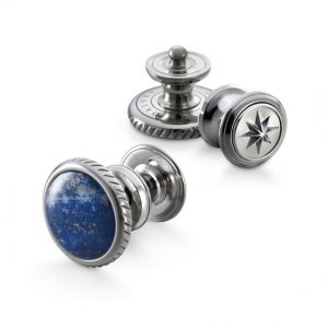 dalvey button lapis lazuli