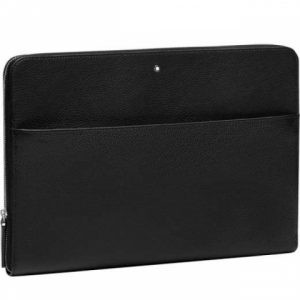 montblanc-black-portfolio-kožený obal