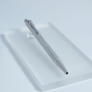 Guľôčkové pero Ecrid M Chevron CT - Striebro