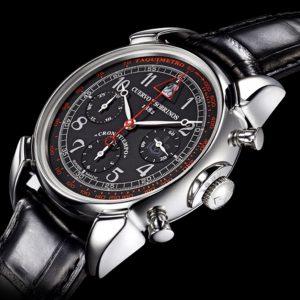 Cuervo Y Sobrinos New Historiador Crnono pánske hodinky